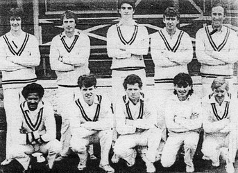 1985 - 1st XI - Durham Senior league winners