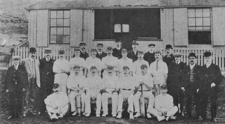 1909 - 1st XI and officials