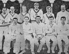 1962 - 1st XI - Durham Senior League winners
