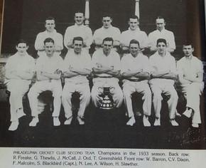 1933 - 2nd XI League winners