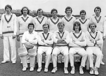 1977 - 1st XI - Durham Senior League winners