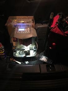 Car key cutter machine