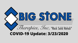 BST COVID-19 Update: 3/23/2020