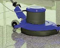 Buffing flooring