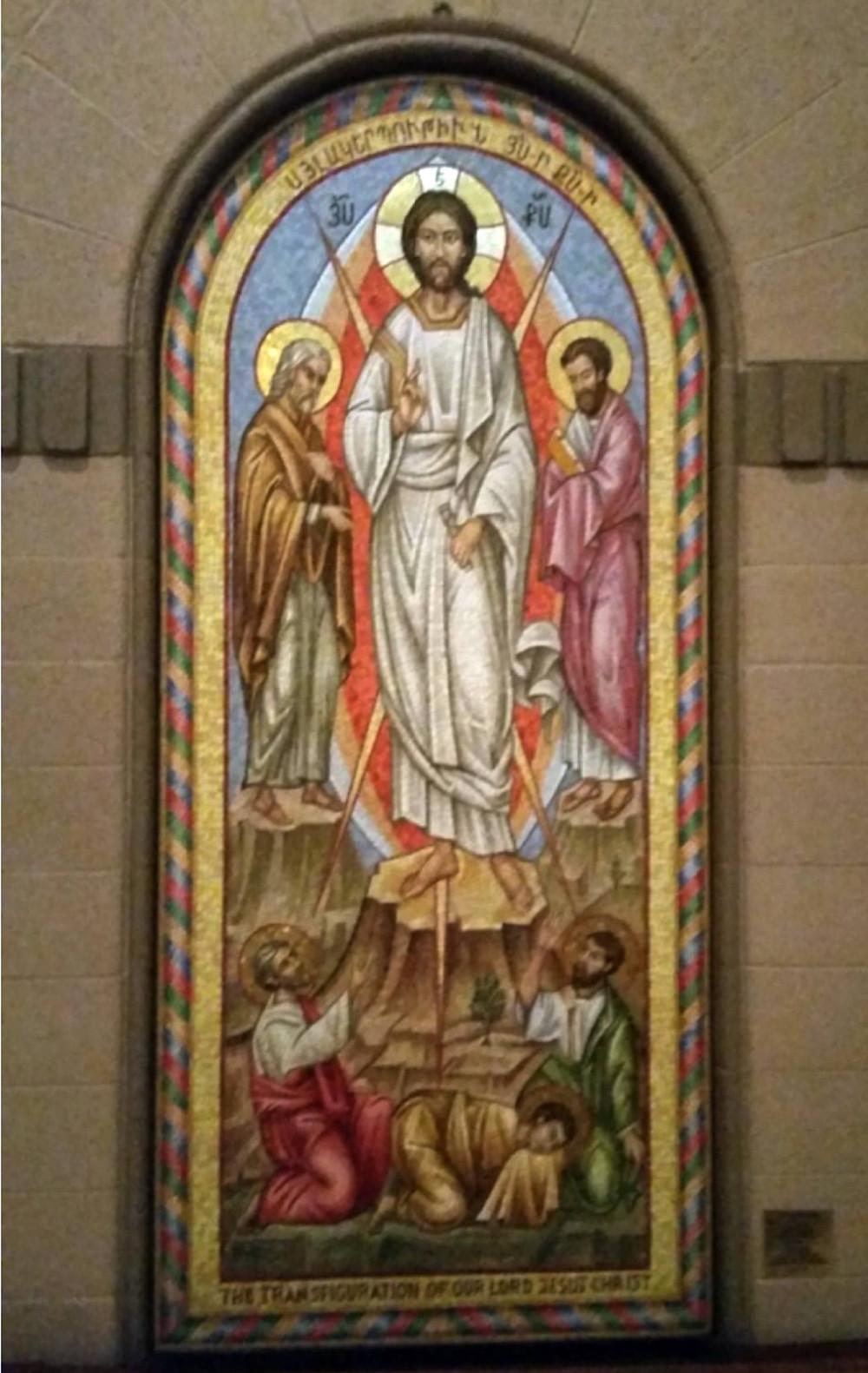 Vartavar painting Transfiguration