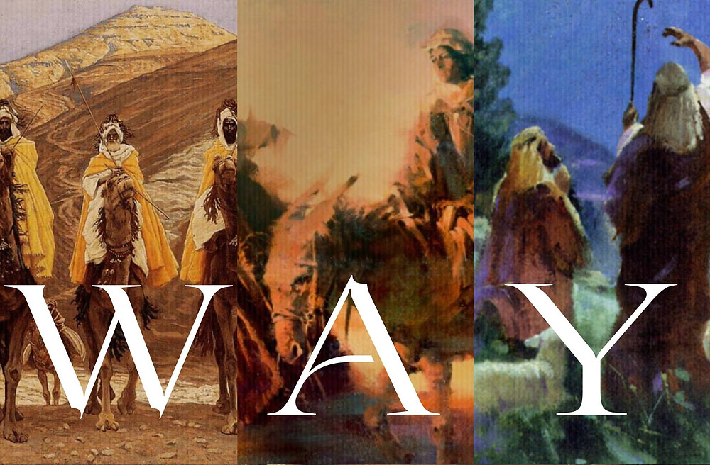 Way, journey to Bethlehem