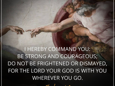 Courage is a Commandment