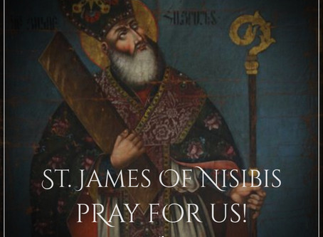 Saint James of Nisibis