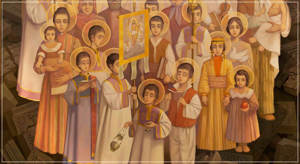 Icon Holy Martyrs of Armenian Genocide
