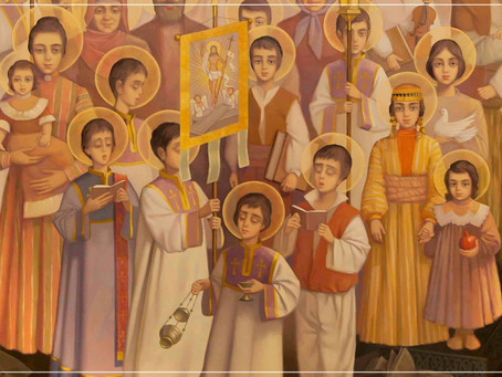 The Icon of Holy Martyrs of the Armenian Genocide