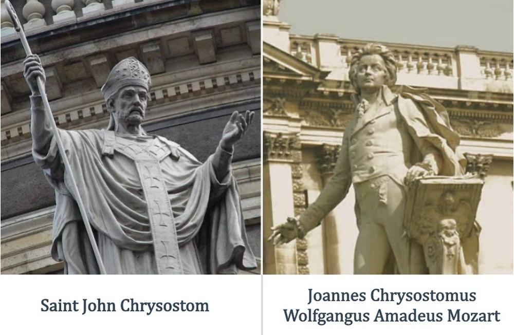 Mozart and Chrysostom