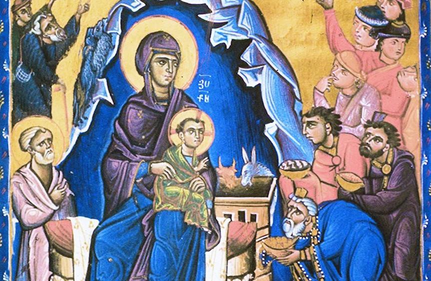 Holy Nativity Armenian Christmas Icon