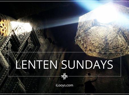 The Sundays of Lent