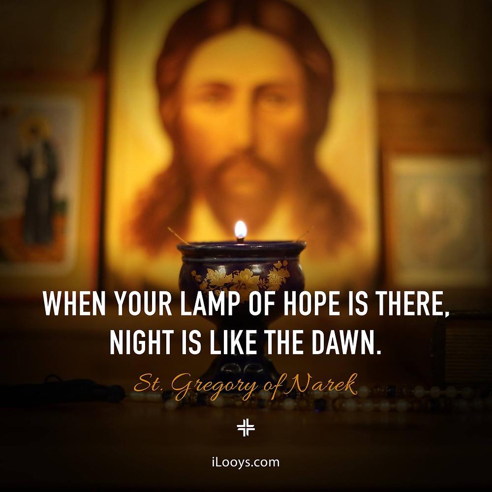 Lamp of Hope iLooys St. Gregory of Narek