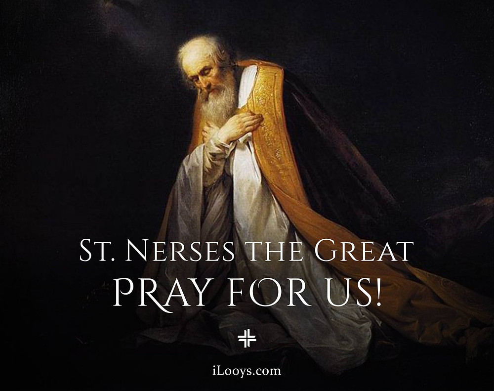 St. Nerses the Great Armenian, iLooys