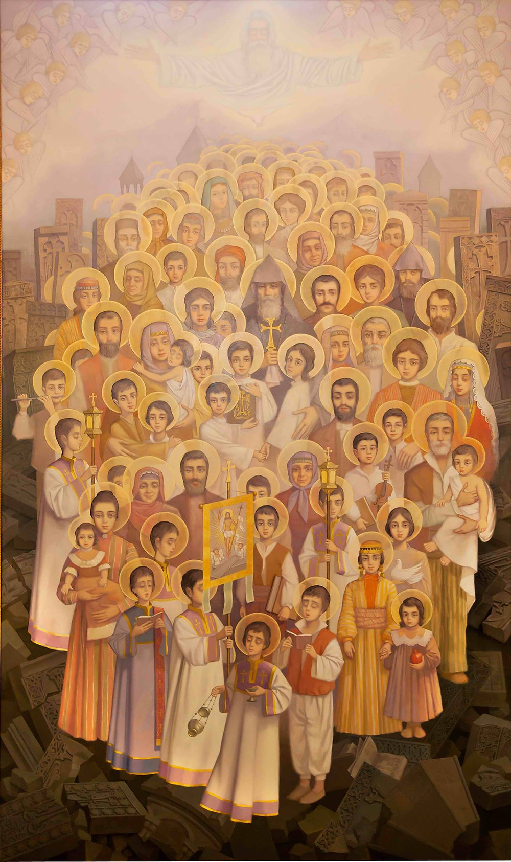 Icon of Holy Martyrs of Armenian Genocide