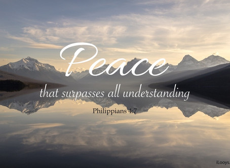Live peace, have peace, to be at peace