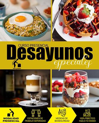 PRESENCIAL - DESAYUNOS ESPECIALES