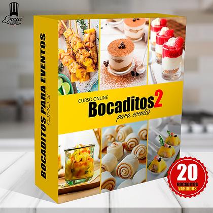 BOCADITOS PARA EVENTOS TOMO 2