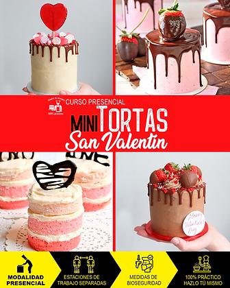 PRESENCIAL - MINI TORTAS SAN VALENTÍN