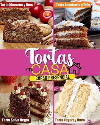 TORTAS EN CASA - PRESENCIAL