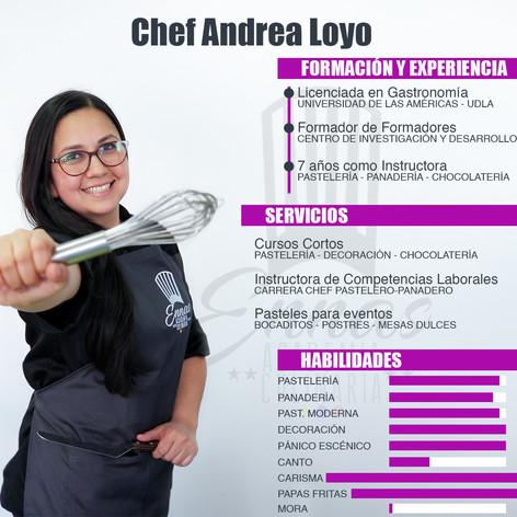 Chef Andrea Loyo