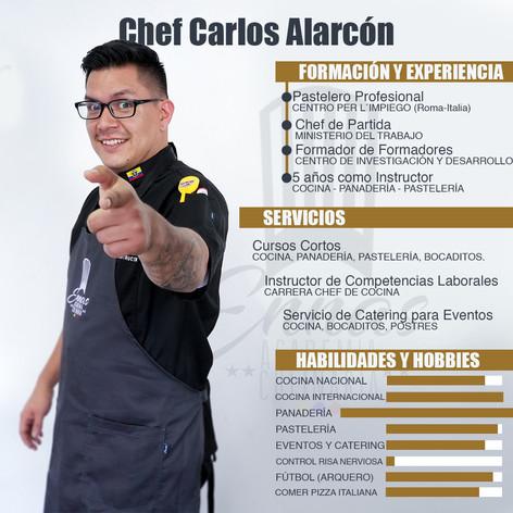 Chef Carlos Alarcón
