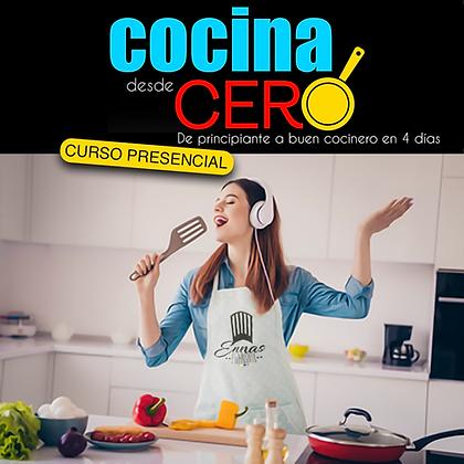 COCINA DESDE CERO - PRESENCIAL
