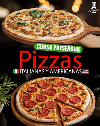 PRESENCIAL - PIZZAS ITALIANAS Y AMERICANAS