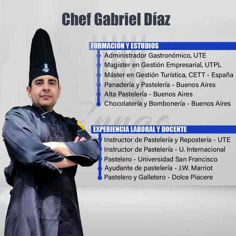 Chef Gabriel Díaz