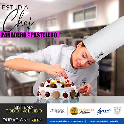 CARRERA CHEF PASTELERO - MATRICULA