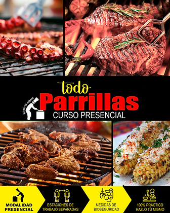 PRESENCIAL - TODO PARRILLAS