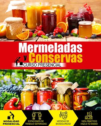 MERMELADAS Y CONSERVAS - PRESENCIAL