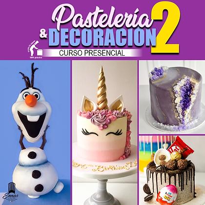 PRESENCIAL - PASTELERÍA Y DECORACIÓN 2
