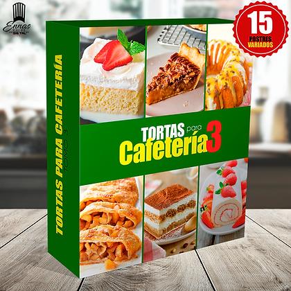 TORTAS PARA CAFETERÍA TOMO 3