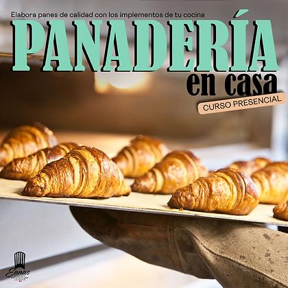 PANADERÍA EN CASA - PRESENCIAL