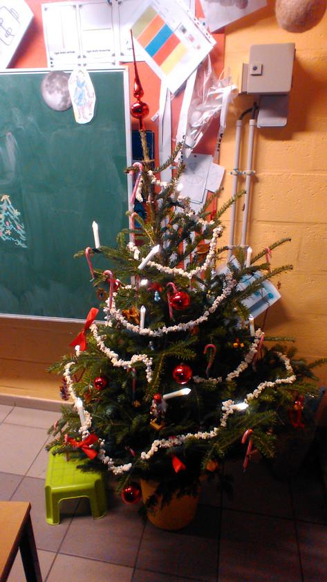 Notre sapin de Noël traditionnel