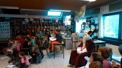 Venez, venez voir notre spectacle Saint-Nicolas!