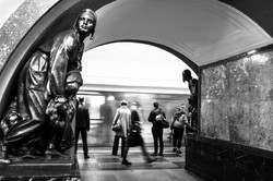 Scenes from a Moscow Metro