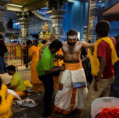 Thaipusam festival, Singapore