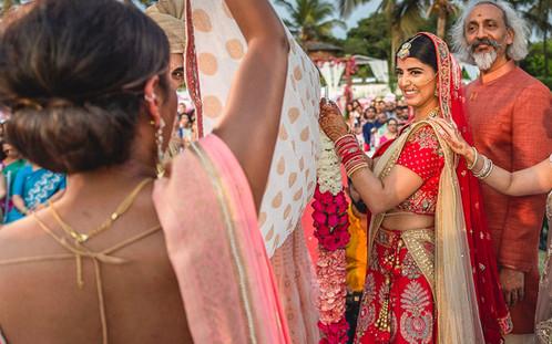 wedding ceremony in Goa