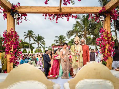 Roshni & Hiten's summer wedding in Goa
