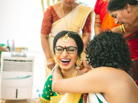 Payuna & Samrat's relaxed beach-side wedding