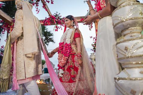 Pheras at Goa destination wedding