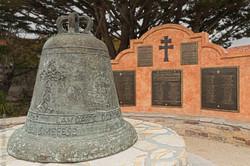 Monterey Mission bell-