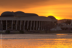 Sunset, Canadian Museum of History