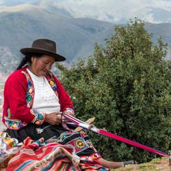 Cusco artisan-