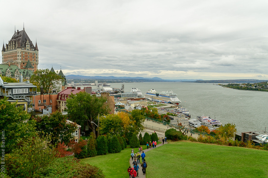 Quebec City view from the Citadel-7391.j