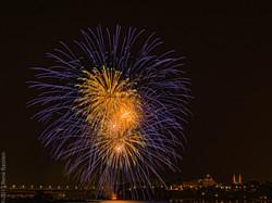 Fireworks Ottawa River