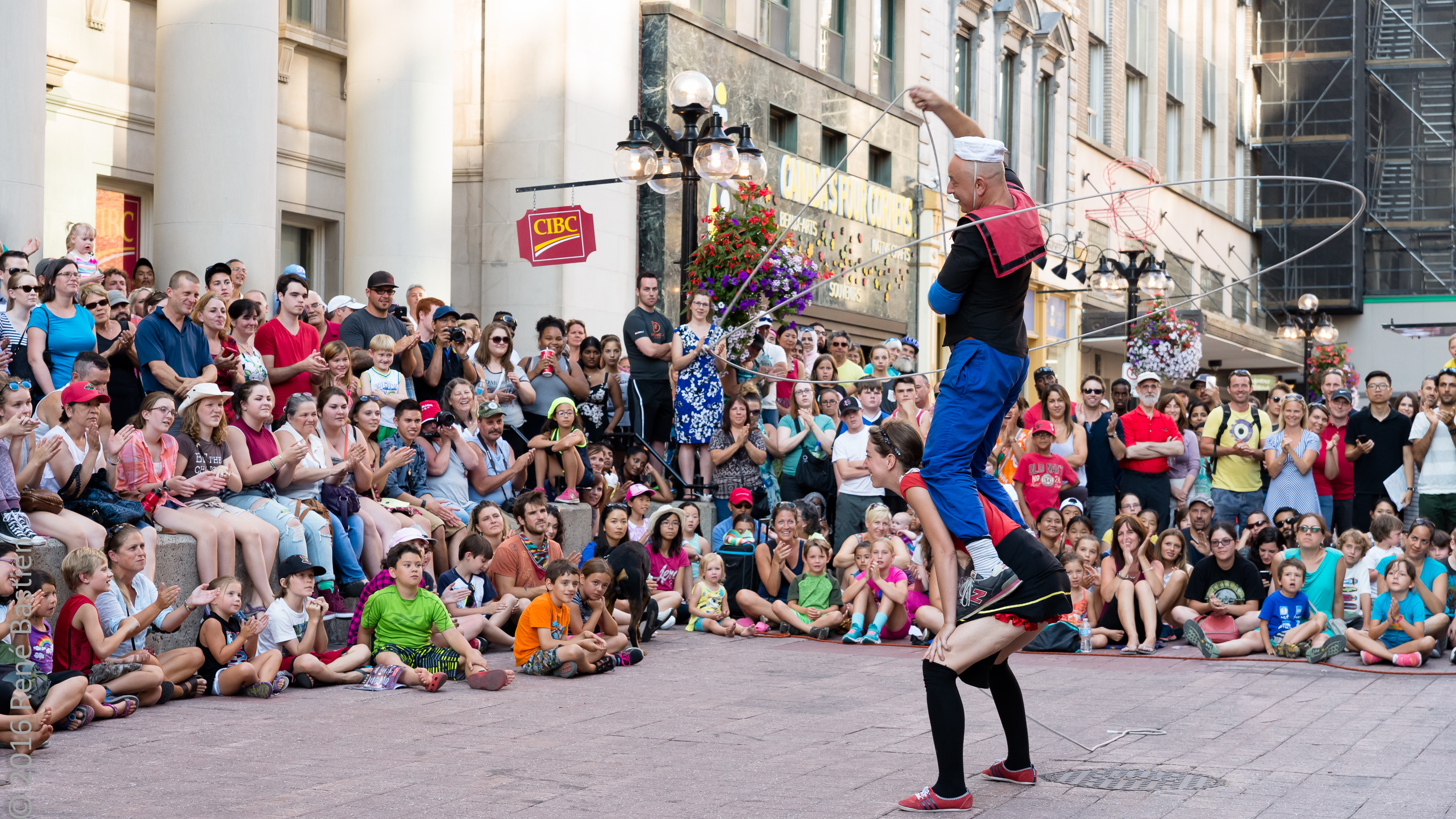 Buskers Popeye & Olive-5720